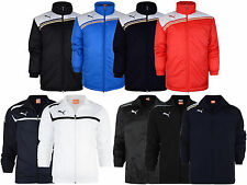 New Mens Puma King Coaching Jacket Hooded Sport Winter Fleece Coat  S-XXXL