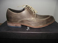 Mens Cole Haan Air Colton shoe charcoal grey leather sizes UK 7-11