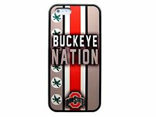 NEW OHIO STATE BUCKEYES RUBBER SKIN CASE COVER FOR IPHONE 4 4S 5 5S 5C 6 6 PLUS
