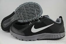 NIKE WILD TRAIL WIDE WIDTH E BLACK/SILVER/COOL GRAY HIKING ACG RUNNING MEN SIZE