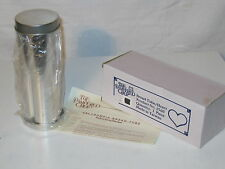 Pampered Chef Aluminum Baking Mold Bread Tubes (Silver), New in Box