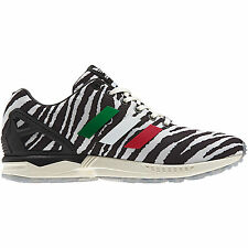 buy popular 44536 ccd33 Adidas ZX FLUX Originals Italia Independent Zebra Mens Fashion Casual SZ 7 -13