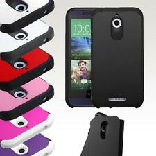 For HTC Desire 510 ShockProof Hybrid Rubber Protective Hard Case Cover