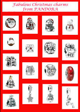 GENUINE PANDORA Christmas Charm Collection  FREE FIRST CLASS DELIVERY