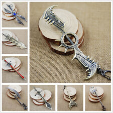 15cm LOL ALL Champion League of Legends Weapon Metal Model Keychain Pendant 5.9""