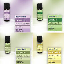 ESSENTIAL OILS - 100% Pure - 10 ml Pack for Aromatherapy & Home Fragrance