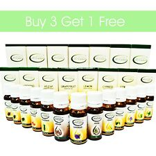 Buy 3 Get 1 Free 100% Natural Pure Essential Oil Therapeutic Grade Quality Oils