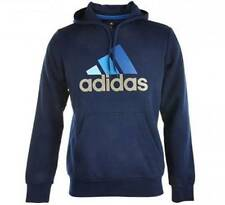 Adidas Essential Sept Logo Men's Long SleeveHoodies Jacket M67447 Navy Blue