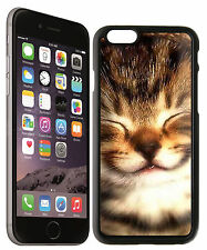 Cat Smile Design Iphone 6 Snap On Case 110914-ip6019