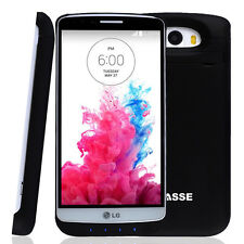 3800mAh External Battery Charger Power Bank With Stand Cover Case For LG G3