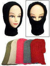 Wholesale Lot 6 Pcs - Kids Knitted Ski Masks - Winter Caps  (# EZWCK104)
