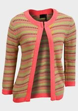 Brand New Primark Ladies stripped Knitted Cardigan 8 10 12 14 16 18
