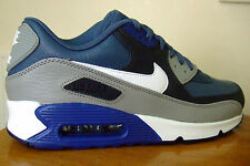 ORIGINAL MENS NIKE AIR MAX 90 LEATHER TRAINERS UK SIZE 6 - 11    ( 4 0 1 )