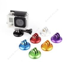 Colorful CNC Aluminum Camera Tripod Adapter Mount for GoPro Hero 4 3+ 3 2 Camera