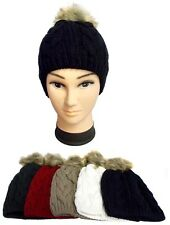 1Pc or Wholesale Lot 6Pcs - Knitted Adult Winter Caps - Beanies (# EZWCA23013)