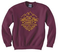 "LORD OF THE RINGS/ THE HOBBIT ""TOLKIEN RING AZTEC"" SWEATSHIRT NEW"