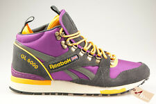 f0aaaa8bc REEBOK GL 6000 MID GRIS VIOLET Baskets Homme M41523 Man Sneakers GREY  tailles
