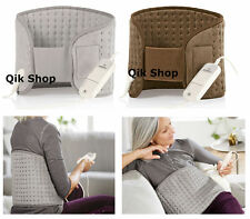 Electric Heat Pad With 6 Temp Setting  Soothing Heat For Back,Leg,Neck 47X36 Cm