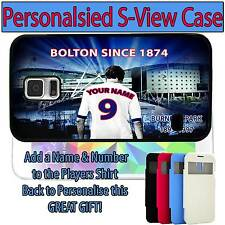 PERSONALISED UNOFFICIAL BOLTON WANDERERS SAMSUNG GALAXY S VIEW FLIP CASE