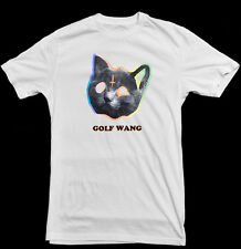Golf Wang Cat Rainbow Tyler The Creator OFWGKTA White T-Shirt