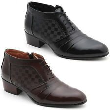 New Mooda Fashion Mens Oxford Dress Formal Leather Ankle Boots Shoes