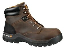 CARHARTT MEN'S 6 inch Brown Work Flex Work Boot CMF6366 Composite Toe Boots