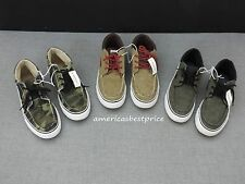 AEROPOSTALE NEW MENS MIT-TOP BOAT SHOE,SIZE 9,11,12,BROWN,CHARCOAL,GREEN,NWT.