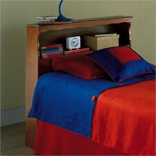 Fashion Bed Barrister Wood Bookcase Bayport Maple Finish Headboard