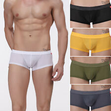 Men Backless Briefs Boxers Jockstrap Back Hole Trunks Shorts Underwear Underpant