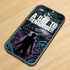 A Day To Remember Rock Band TPU Rubber Silicone Case iPhone 4 4s 5 5s 5c