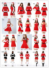 Sexy Women Santa Claus Dress Christmas Costume Party Outfits New Dress Sets