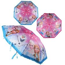 Frozen Kids Umbrella Disney Anna & Elsa Folding Parasol Girls Gift Large 87cm