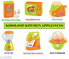 Kidoloop Kitchen Appliances Play Set Toys For Little Chef Battery Operated