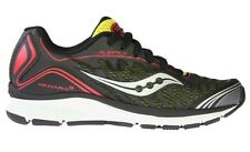 Kid's Saucony PROGRID Kinvara 3 Running Shoes - Black/Citron/Red - NIB!