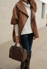 *Sell Out* H&M Wool Blend Cape Coat Camel Brown SMALL Bloggers!