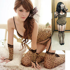X 2X 3X Large Leopard Print Camisole Sets/ To Be A Sexy Pussycat Dolls Sex Drive