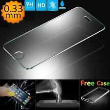 Ultra-thin 2.5D Rounder Border Tempered Glass Screen Protector + Free Case #US