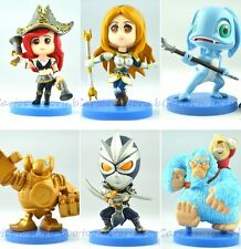 NEW Hot Six kinds 12cm LOL League of Legends Figure/Model/Doll/Toy Free shipping