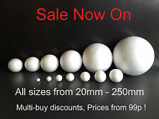 LOWEST PRICES Solid Polystyrene Balls Christmas sweet tree  craft cake florist