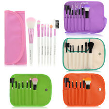 7pcs Professional Soft Cosmetic Makeup Brush Set Pink + Pouch Bag Case