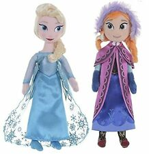 """Plush Soft Rag Doll Anna Elsa 10"""" NEW with tags UK Seller in stock"""
