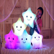 New Relax Cushion LED  Mood Colour Changing Light Up Glow Mood Pillow Soft Cosy