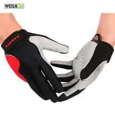 Unisex Adult Full Finger Cycling Gloves Bicycle Racing Bike Mountain Gloves M-XL