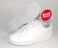 NIKE BIG KIDS SANTA CRUISE 344893 111 WHITE LEATHER ATHLETIC CASUAL SNEAKERS