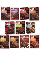 (2) Boxes of Duncan Hines Premium Brownie Decadent Mix (Self-Select) 11 Choices