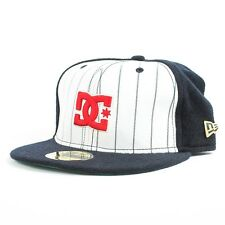 DC 20 94 HAT WHITE NAVY 20TH ANNIVERSARY LIMITED EDITION SIZE 7.5 6B2