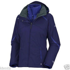 "NEW WOMENS COLUMBIA ""Bugaboo"" 3IN1 WINTER JACKET COAT OMNI TECH PARKA"