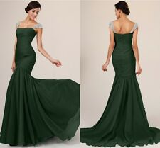 Glamorous Beaded Evening Dress Prom Formal Party Dress Size 2 4 6 8 10 In Stock