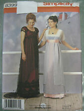 ROSE TITANIC HISTORY PERIOD GOWN COSTUME SEWING PATTERN 8399
