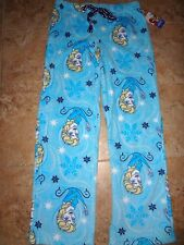 NWT Disney Frozen Women Elsa Fleece Lounge Sleep Pajama Pants Christmas S M L XL